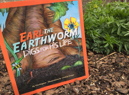 Naturalist Sara's Book Pick: 'Earl the Earthworm Digs for His Life'