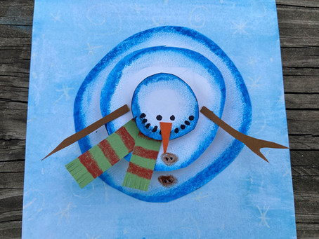 No Snow? No Problem. These Crafty Snowmen Are An Inside Job