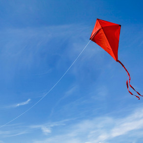 No Kite? It's Easy To Make Your Own