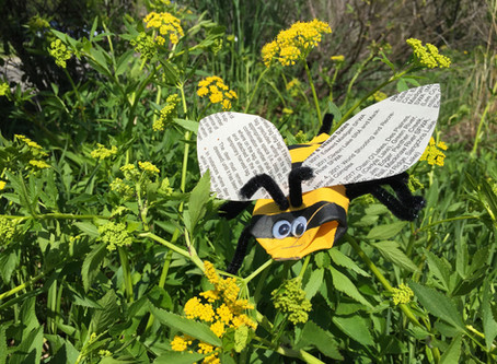 Make Your Own Buzzy Bee With Recycled Items