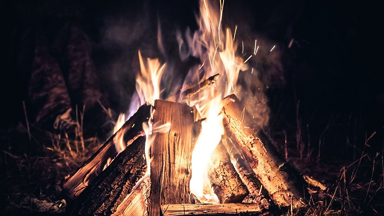 Family-Friendly Ugly Sweater Campfire