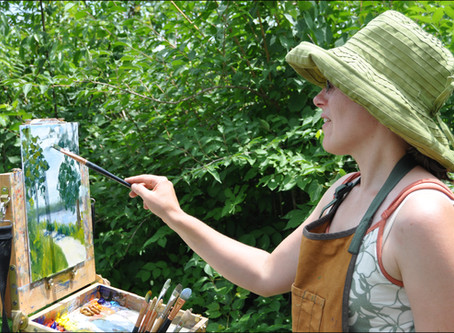 Head Into The Great Outdoors For Some Painting Fun