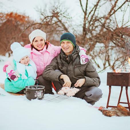 Celebrate The Season With a Fun Winter Picnic