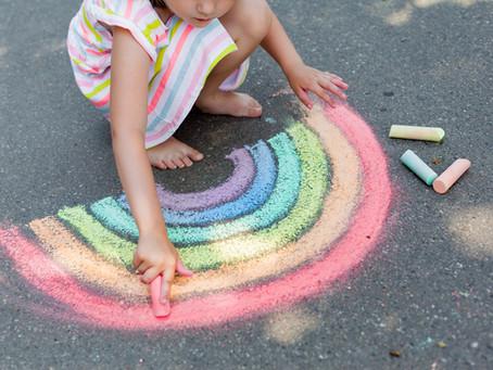 Level Up Your Sidewalk Chalk Skills This Summer