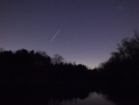 Eyes To The Skies For The Lyrid Meteor Shower