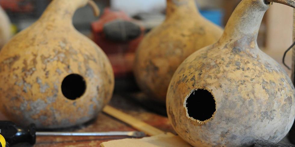 Make a Gourd Birdhouse