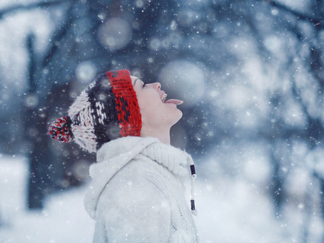 Catching Snowflakes Is A Childhood Rite Of Passage