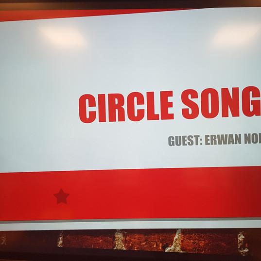 Cours de Circle Song pour une classe d'éducation musicale à l'Université Shenandoah 2019 (VA-USA)