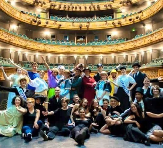 Mary Poppins avec la troupe permanantes au théâtre Graslin 2015