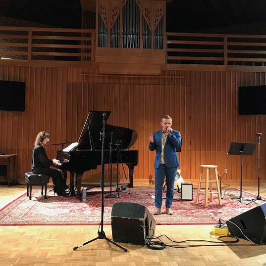 Recital avec Dyanne Potter Voegtlin 2019