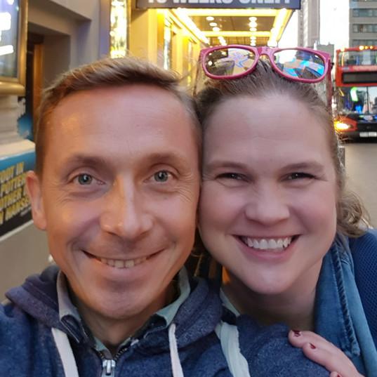 Broadway - The Lightening Thief avec Amanda Flynn (coach vocal) - NYC 2019