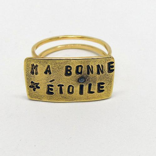 Bague MA BONNE ETOILE
