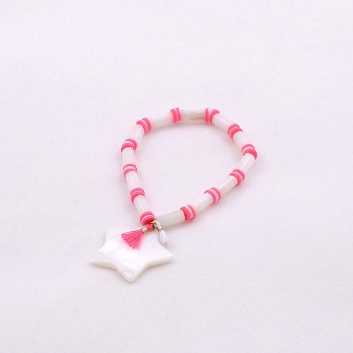 Bracelet SYLPHIDE rose