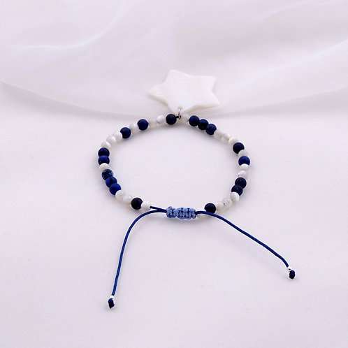 Bracelet SYLPHIDE bleu