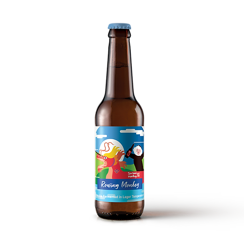 Rowing Monkey - 糯米甜紅酒香料啤 (6 pack)