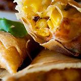 Cheese and corn samosas - Simply Delicio
