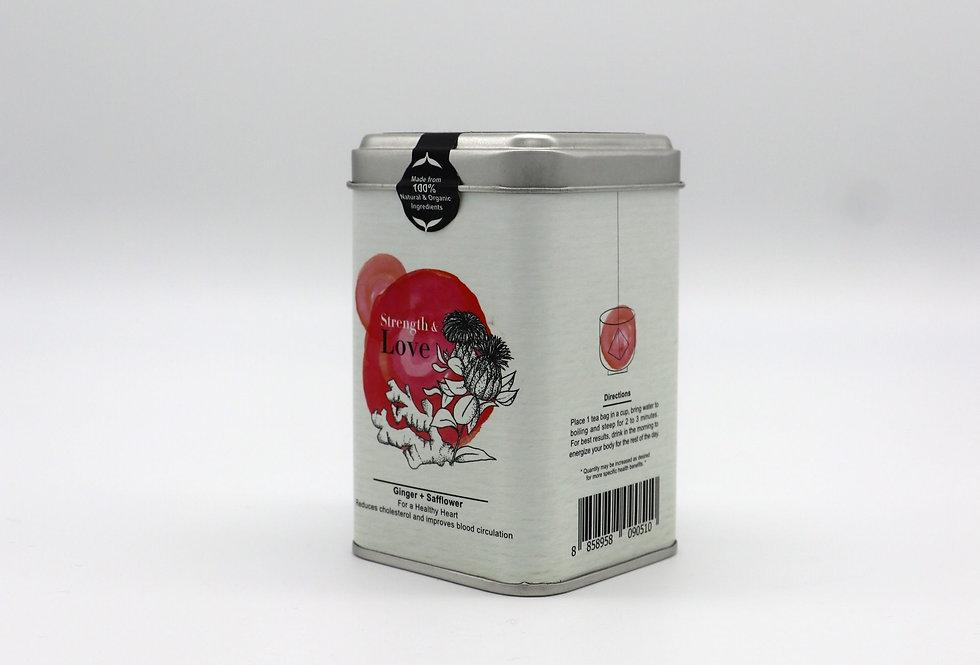 生薑 x 紅花有機茶