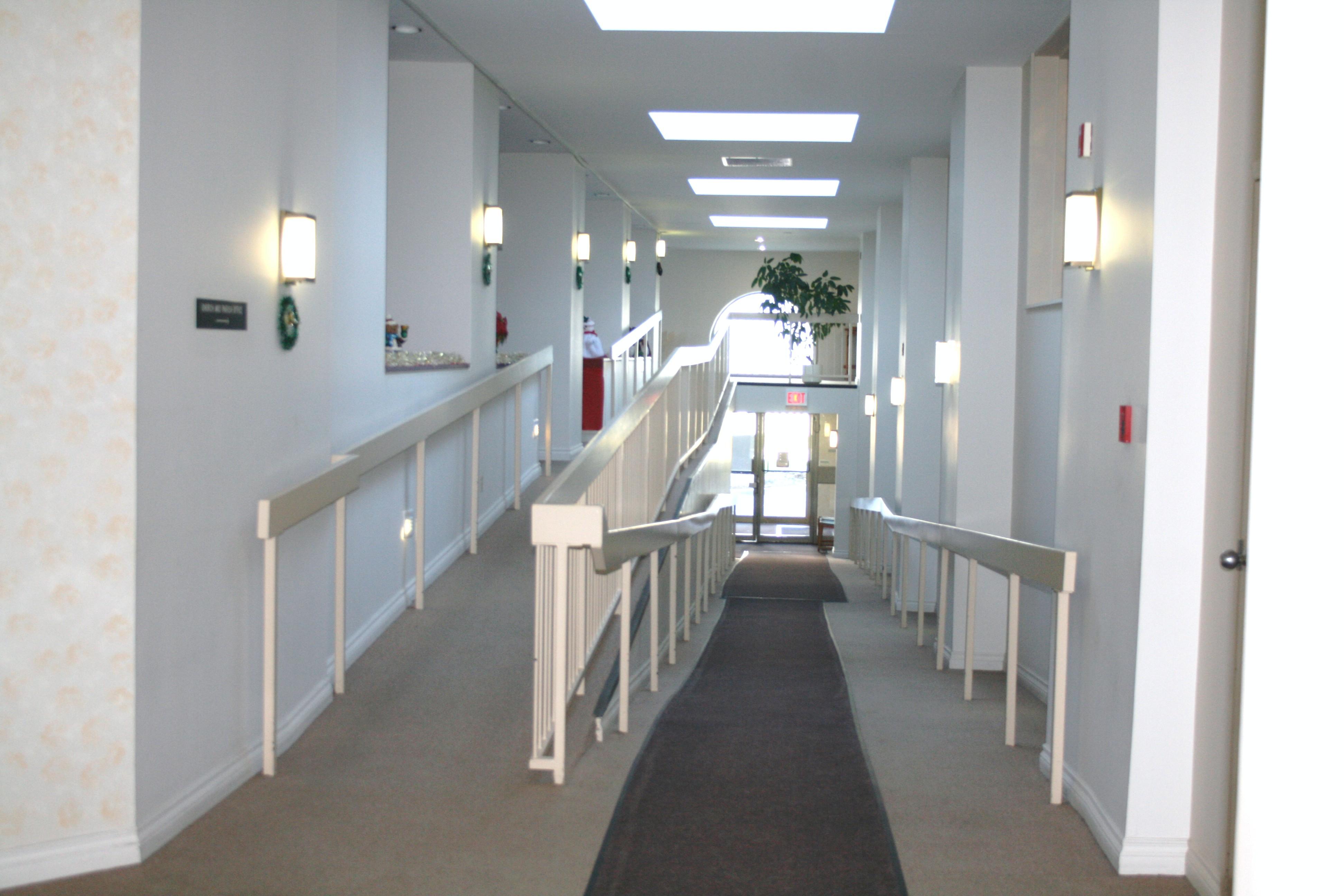 Entrance ramp