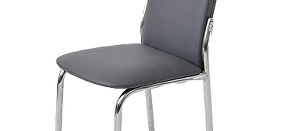 כסא דגם נרקיס צבע אפור כהה