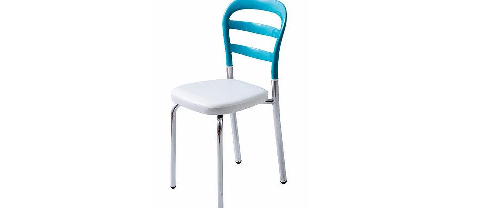 כסא דגם דקל צבע טורכיז