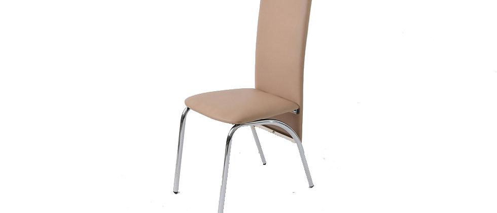 כסא דגם ברוש צבע מוקה