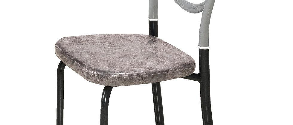 כיסא דגם מילאנו צבע אפור