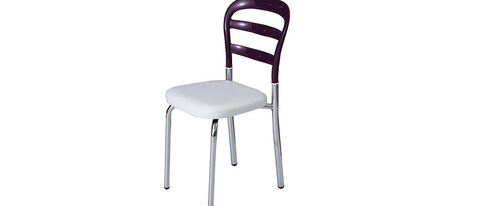 כסא דגם דקל צבע סגול