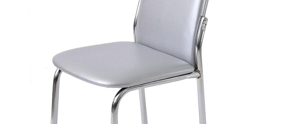 כסא דגם נרקיס צבע כסוף