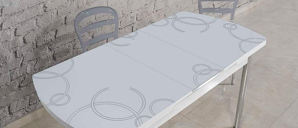 שולחן דגם ונציה צבע אפור