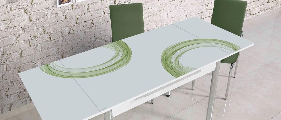 שולחן רקפת צבע ירוק