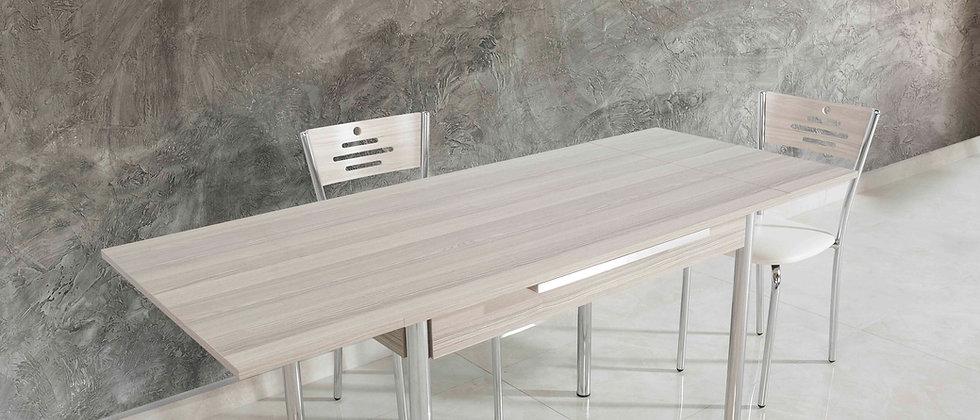 שולחן דגם כנרת צבע טבעי בהיר