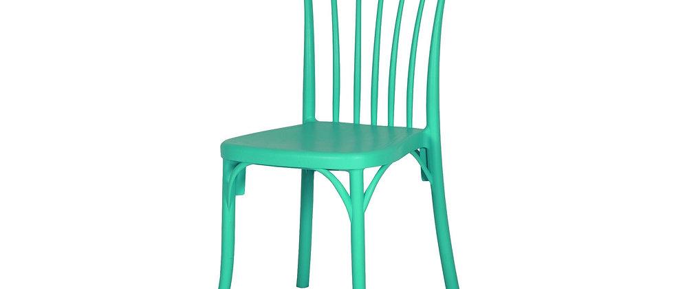 כסא דגם גפן צבע טורקיז