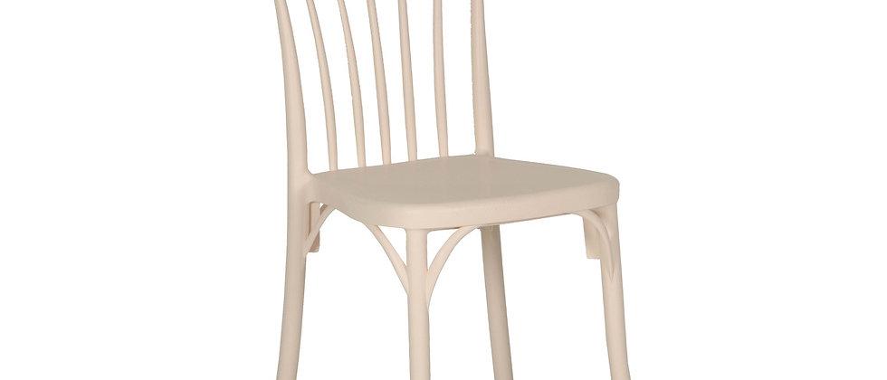 כסא דגם גפן צבע שמנת