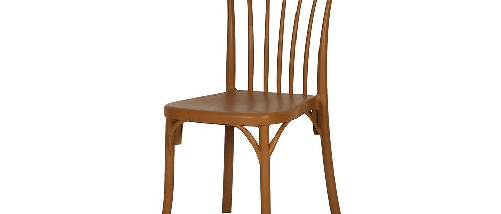 כסא דגם גפן צבע מוקה