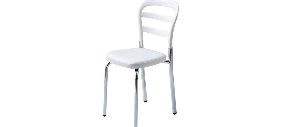 כסא דגם דקל צבע לבן