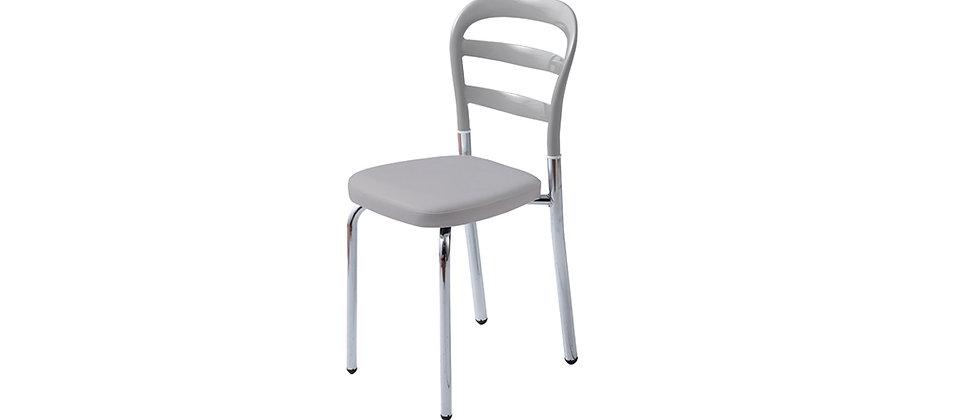 כיסא דגם דקל אפור אפור