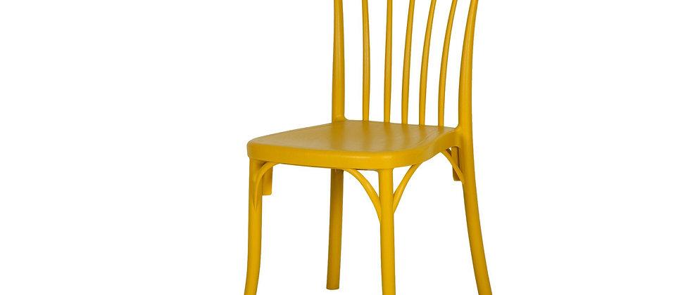 כסא דגם גפן צבע חרדל