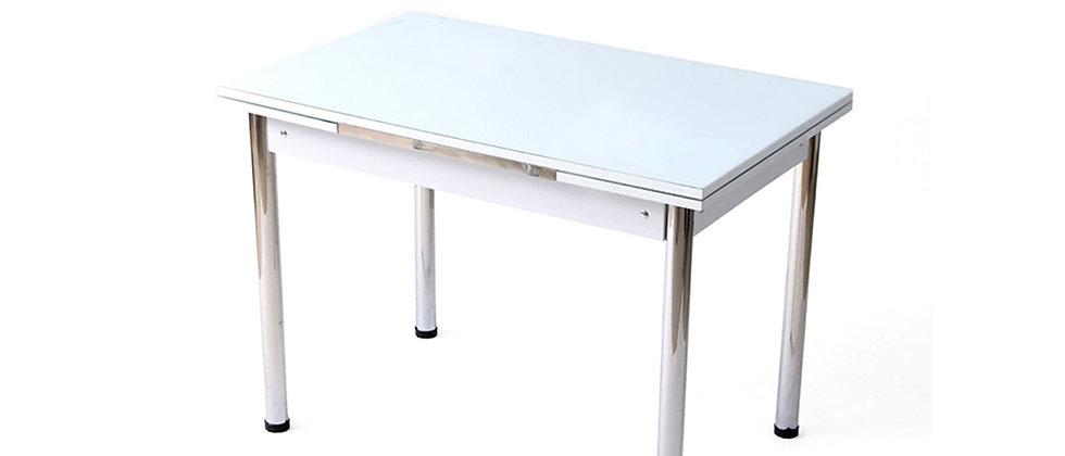 שולחן מיני יסמין 60*90 צבע לבן ללא דיגום