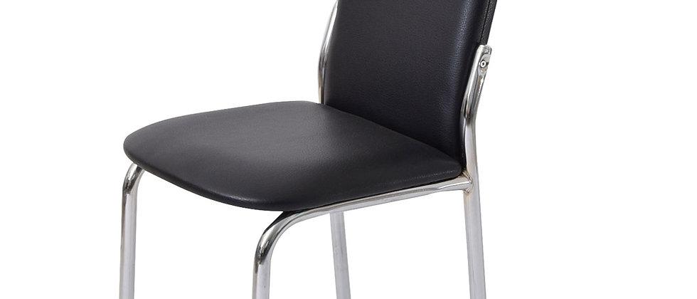 כסא דגם נרקיס צבע שחור