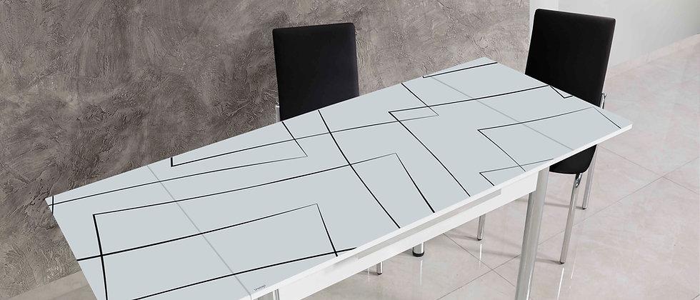 שולחן דגם יסמין צבע שחור