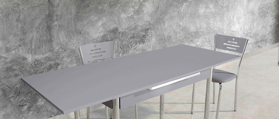 שולחן דגם כנרת צבע אפור