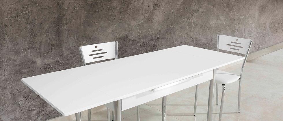 שולחן דגם כנרת צבע לבן