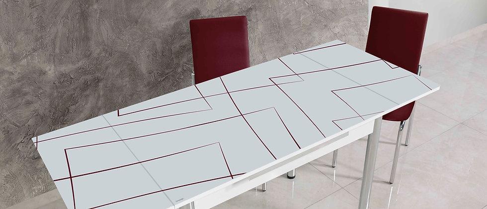 שולחן דגם יסמין צבע שזיף
