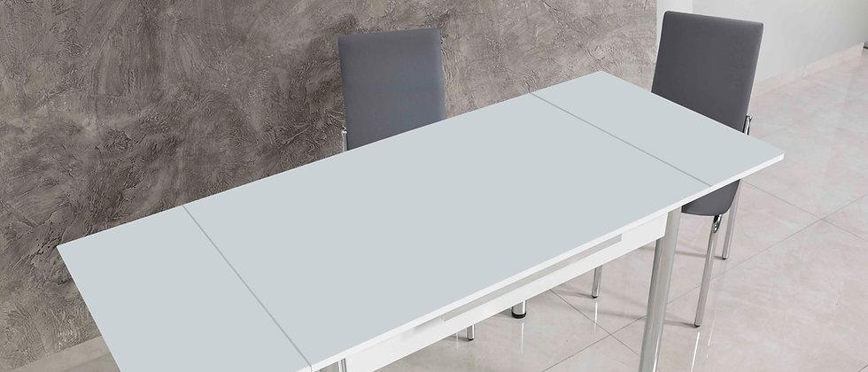 שולחן דגם ניס לבן ללא דיגום