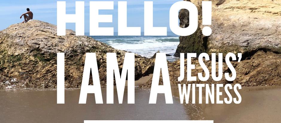 30 Days of Identity: I Am Jesus' Witness
