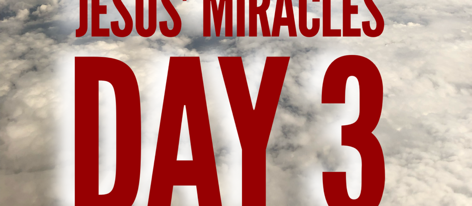 38 Days of Miracles: Healing in Cana
