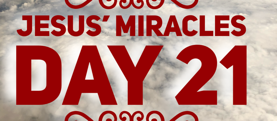 38 Days of Miracles: You Get a Healing and You Get a Healing!!!