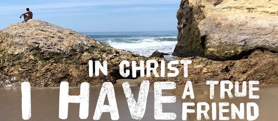 30 Days of Identity: Jesus is my friend
