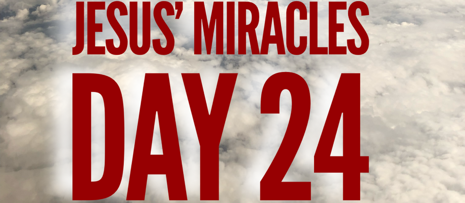 38 Days of Miracles: Compassionate Jesus