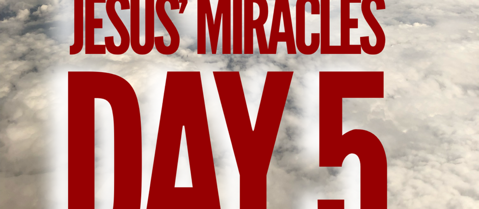 38 Days of Miracles: Healed and Moving On